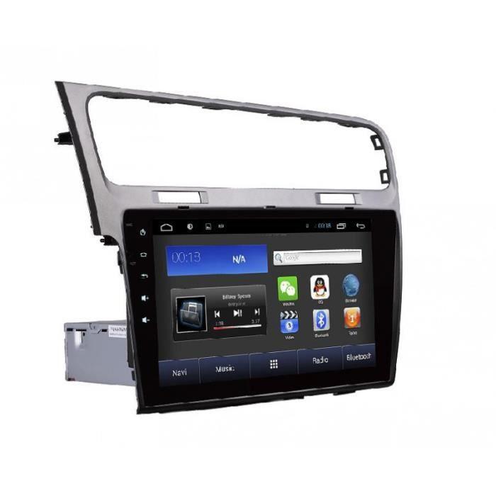 autoradio gps android ecran tactile 10 2 pouce pour volkswagen golf 7 2013 2015 achat vente. Black Bedroom Furniture Sets. Home Design Ideas