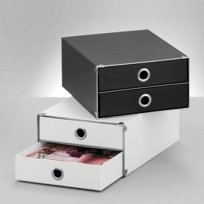 coffret de rangement 2 tiroirs blanc achat vente caisson de bureau coffret de rangement 2. Black Bedroom Furniture Sets. Home Design Ideas
