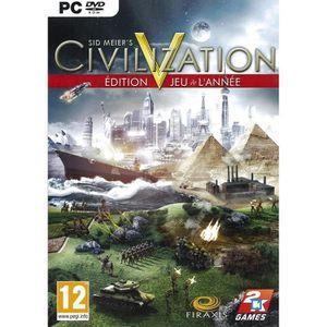 JEU PC Civilization 5 - GOTY Jeu PC