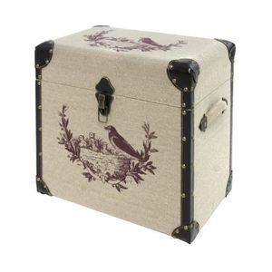 malle rangement bois achat vente malle rangement bois. Black Bedroom Furniture Sets. Home Design Ideas