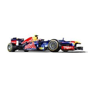Maquette voiture : Red Bull Racing RB8 (Webber)