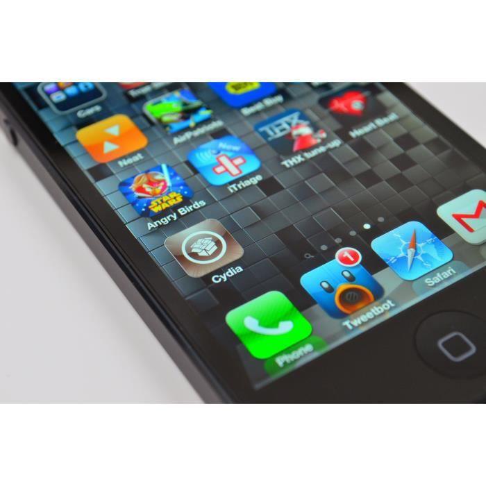 iphone 4s noir 16go achat smartphone pas cher avis et. Black Bedroom Furniture Sets. Home Design Ideas