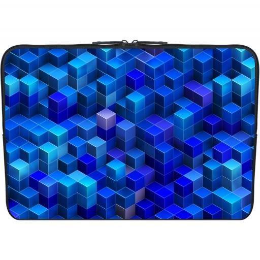 Housse neoprene pc ordinateur portable 15 6 pouces bleu for Housse 15 6 pouces