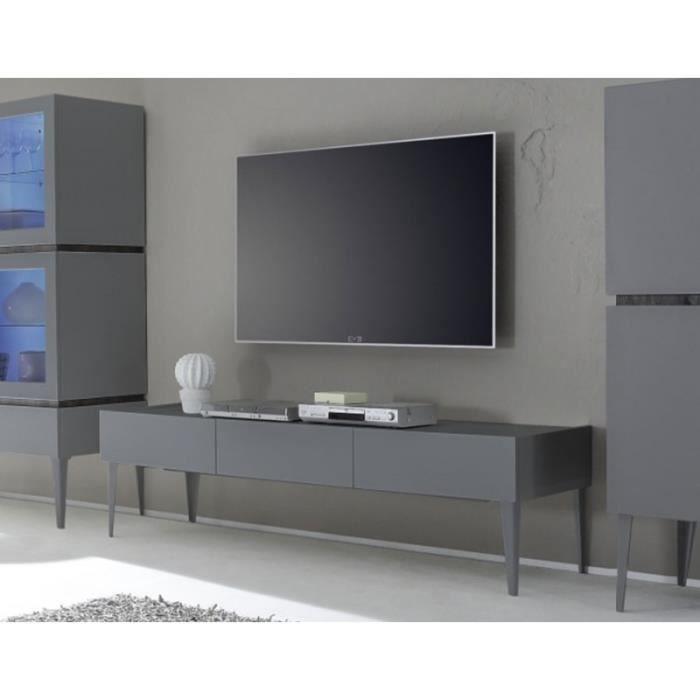 meuble tele gris laque 28 images meuble tv blanc et. Black Bedroom Furniture Sets. Home Design Ideas