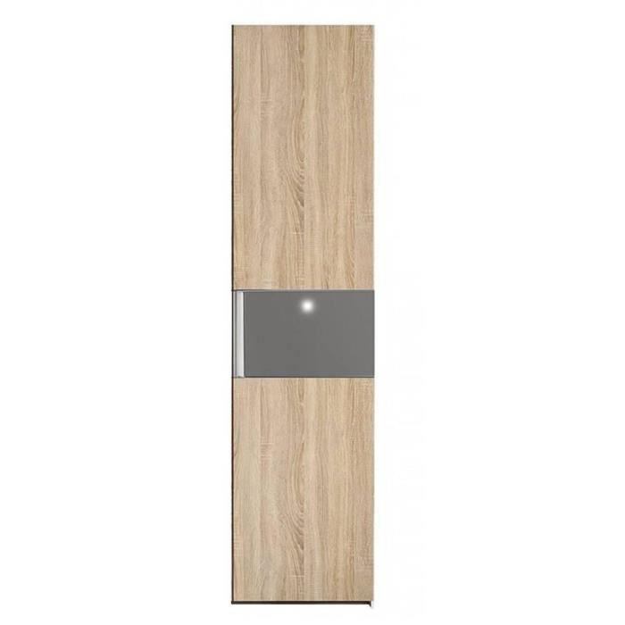 dressing penderie paris une porte battant ch achat vente armoire de chambre dressing. Black Bedroom Furniture Sets. Home Design Ideas