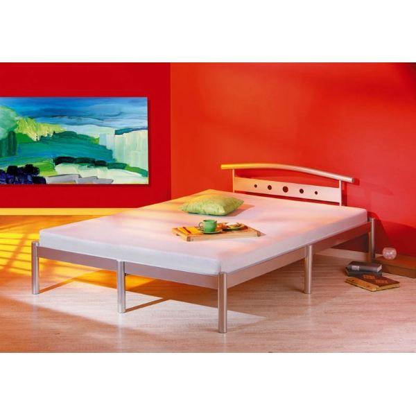 lit nora 2 personnes achat vente structure de lit lit nora 2 personnes cdiscount. Black Bedroom Furniture Sets. Home Design Ideas
