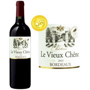 VIN ROUGE Château Vieux Chênes Bordeaux 2015 - Vin rouge x1