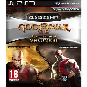 JEU PS3 God of War Collection : Volume 2 Essentiels