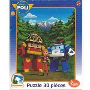 Puzzle robocar poli 30 pieces 1399984257760 achat - Jeux robocar poli ...