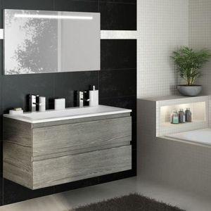 meuble simple vasque 120 achat vente meuble simple vasque 120 pas cher soldes cdiscount. Black Bedroom Furniture Sets. Home Design Ideas