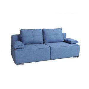 canap sofa divan canap convertible eliana bleu - Canape Bleu