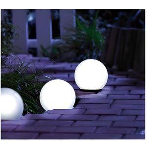 boule lumineuse led exterieur achat vente boule lumineuse led exterieur pas cher les. Black Bedroom Furniture Sets. Home Design Ideas