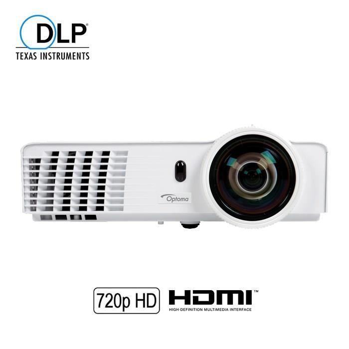 Vidéoprojecteur OPTOMA GT760 Vidéoprojecteur DLP 720p 3D