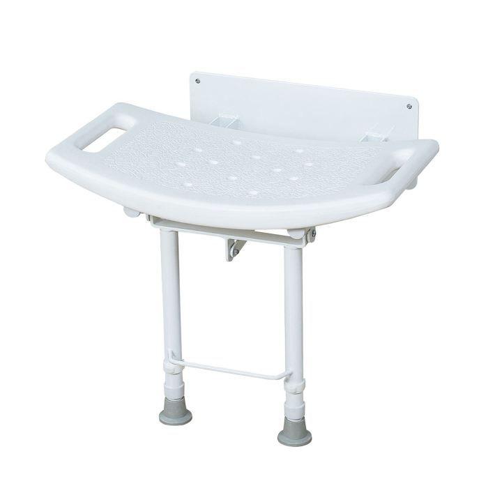 chaise de douche murale avec pieds r glables achat vente assise bain douche chaise de. Black Bedroom Furniture Sets. Home Design Ideas