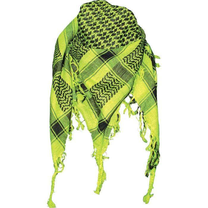 keffieh foulard palestinien vert achat vente echarpe foulard keffieh vn on noir cdiscount. Black Bedroom Furniture Sets. Home Design Ideas