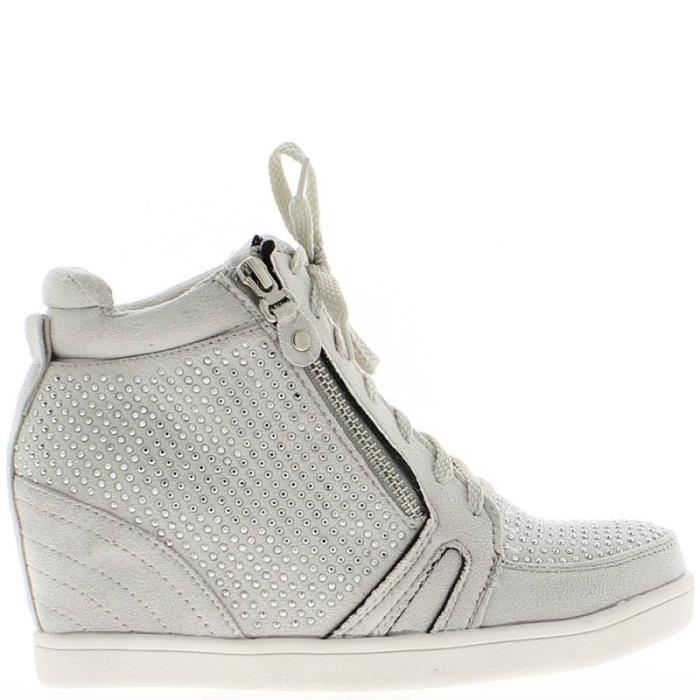 Chaussures Compens 233 Es Chic Pas Cher