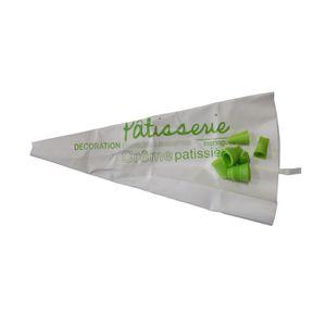 POCHE À DOUILLE Poche à douille décoré verte
