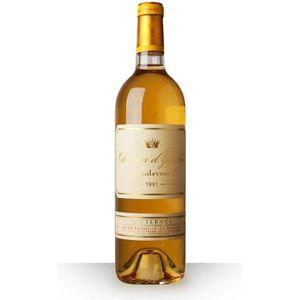 VIN BLANC Château d'Yquem 1991 Blanc 75cl AOC Sauternes - Vi