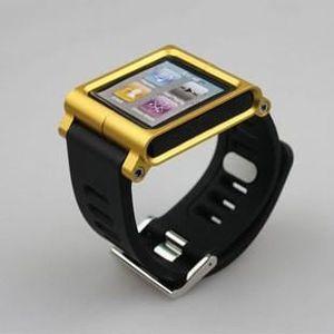 BRACELET DE MONTRE Bracelet pour Apple IPod nano 6G - Jaune