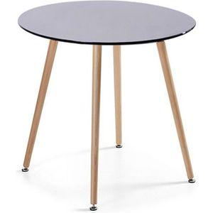 Table ronde de cuisine achat vente table ronde de for Table ronde design diametre 80 cm