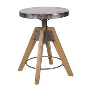 tabouret bois metal achat vente tabouret bois metal pas cher soldes d hiver d s le 11. Black Bedroom Furniture Sets. Home Design Ideas