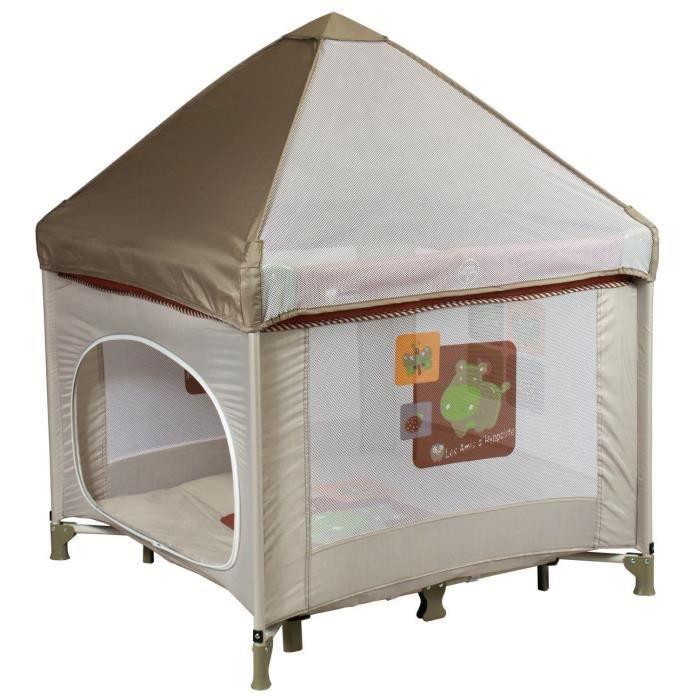 parc b b pliant cabane avec toit achat vente parc. Black Bedroom Furniture Sets. Home Design Ideas