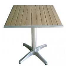 Table carr en plateau frene achat vente table a - Plateau table carre ...