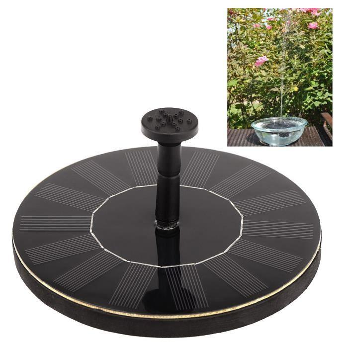 Nergie solaire fontaine pompe arrosage pour plante jardin for Pompe solaire fontaine