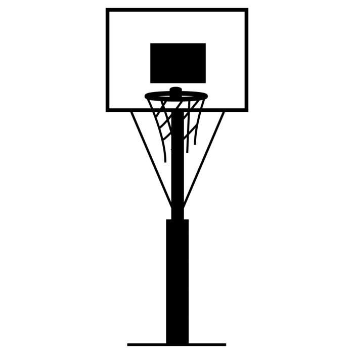 Sticker mural panier de basket achat vente stickers cdiscount - Panier de basket cdiscount ...