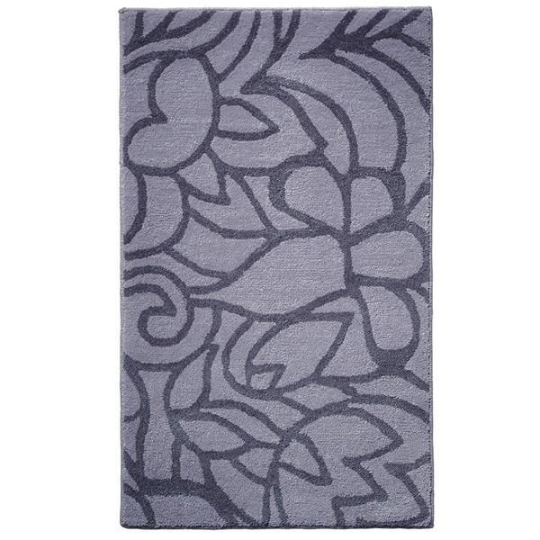Tapis de salle de bain gris flower shower espri achat for Tapis salle de bain gris