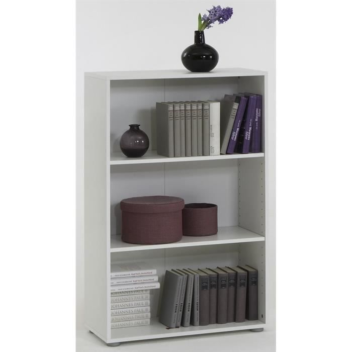 etag re 3 casiers felix blanc achat vente meuble tag re etag re 3 casiers felix blanc mdf. Black Bedroom Furniture Sets. Home Design Ideas