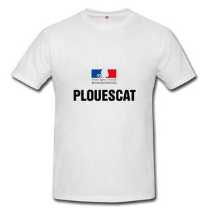 T-SHIRT T-shirt plouescat homme et femme unisex
