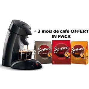 PHILIPS Senseo Original  HD7817/62 + 3 mois de café OFFERT