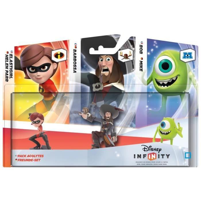 FIGURINE DE JEU Pack De Compagnons Disney Infinity 1.0
