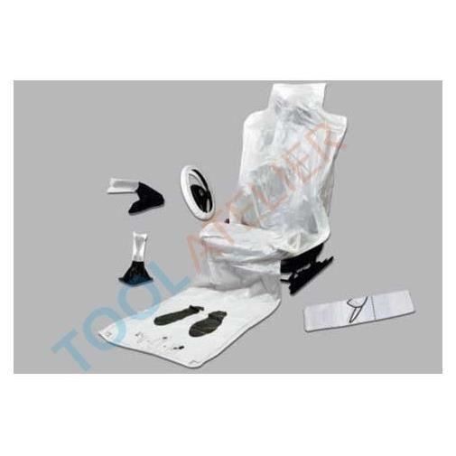 Kit 5 en 1 protection habitacle plastique jet achat for Housse levier de vitesse