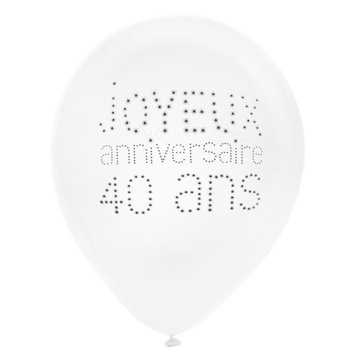 ballon noir et blanc achat vente ballon noir et blanc pas cher cdiscount. Black Bedroom Furniture Sets. Home Design Ideas