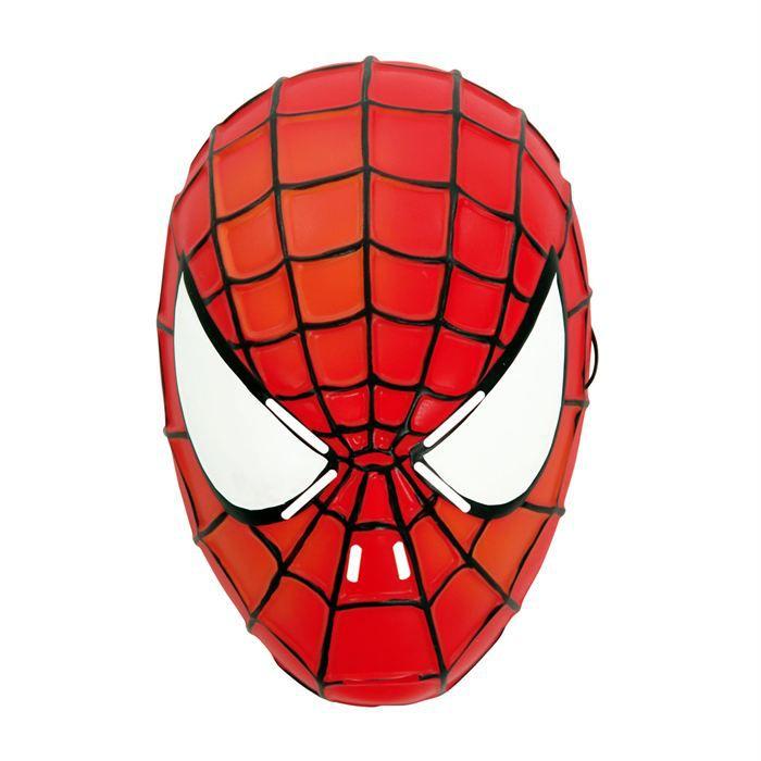Masque spiderman classic achat vente masque d cor - Jeux de spiderman 7 ...