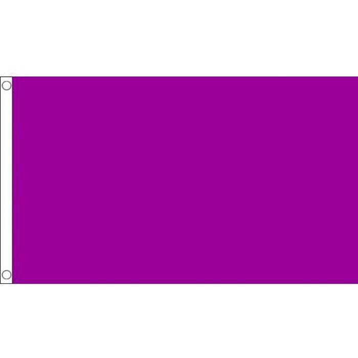 drapeau unicolore violet 150x90cm de couleur prix. Black Bedroom Furniture Sets. Home Design Ideas
