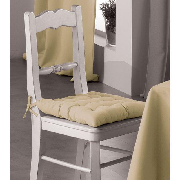 Assise de chaise essentiel coloris lin achat vente for Assise de chaise