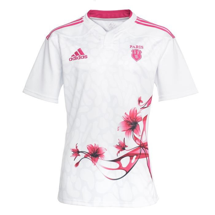 adidas maillot rugby stade fran ais homme achat vente. Black Bedroom Furniture Sets. Home Design Ideas