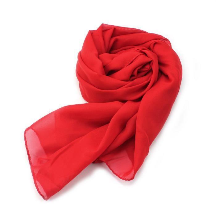 foulard rouge femme pas cher. Black Bedroom Furniture Sets. Home Design Ideas