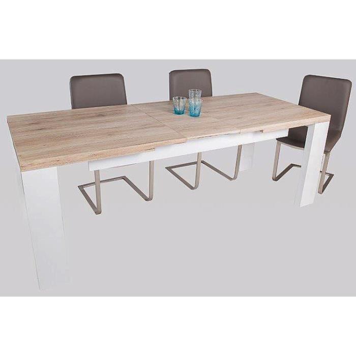 Table de salle manger valens coloris sanremo sable for Table salle a manger 250 cm