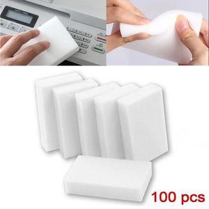PORTE ÉPONGE 100pcs éponge magique nettoyage multi - fonctionne
