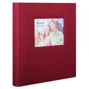 album photo traditionnel square bordeaux 100 pages achat. Black Bedroom Furniture Sets. Home Design Ideas