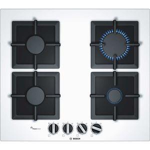 plaque cuisson gaz blanc achat vente plaque cuisson gaz blanc pas cher cdiscount. Black Bedroom Furniture Sets. Home Design Ideas