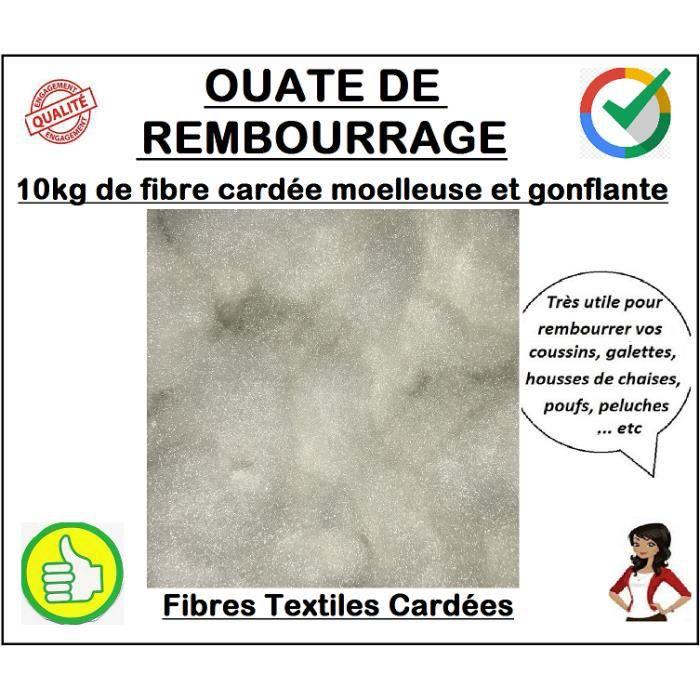 Ouate de rembourrage douce et gonflante sac de 10 kg - Ouate de rembourrage gifi ...