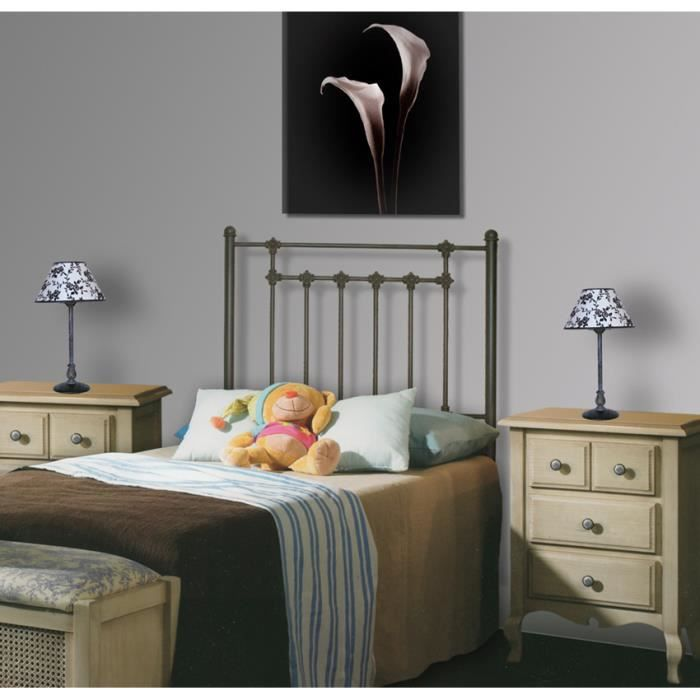 t tes de lit pour enfants en fer forg mod le coquille t te de lit couleurs choisir pour. Black Bedroom Furniture Sets. Home Design Ideas
