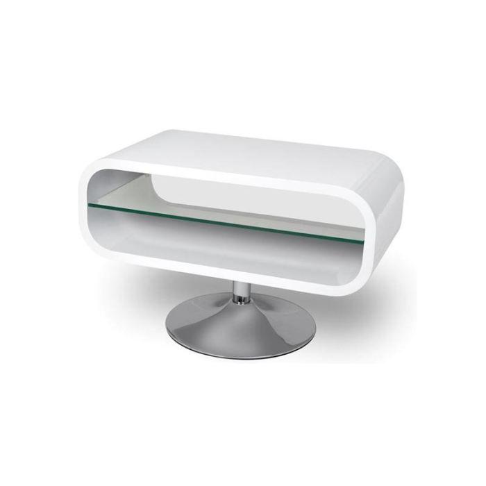 petit meuble tv blanc laque pas cher. Black Bedroom Furniture Sets. Home Design Ideas