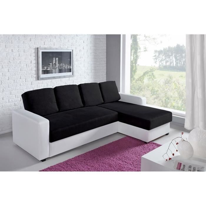 canap d 39 angle r versible convertible bi mati r achat. Black Bedroom Furniture Sets. Home Design Ideas