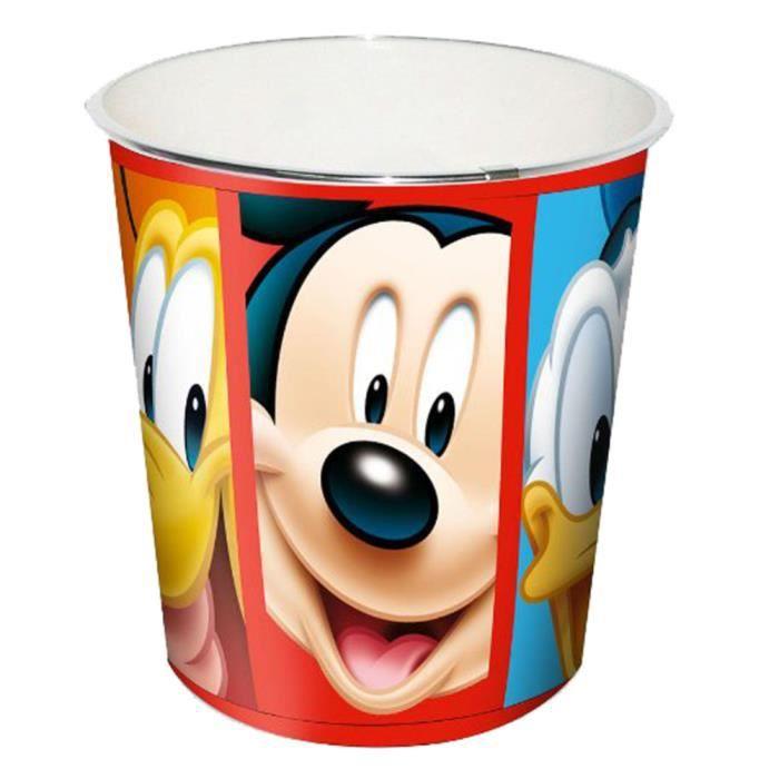 poubelle de bureau mickey achat vente poubelle corbeille poubelle de bureau mickey cdiscount. Black Bedroom Furniture Sets. Home Design Ideas